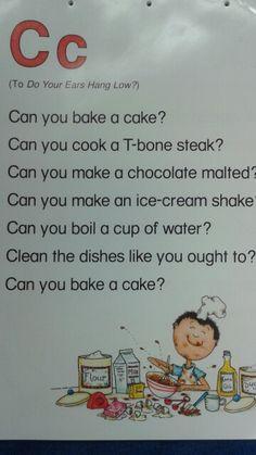 C Alliteration Poem