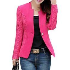 Hoje uma mulher pode muito bem ficar bem vestida com um blazer feminino  barato 80a98b9a34ab4
