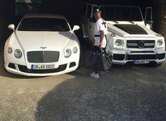 Dede Ayew's cars