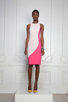 Rachel Roy Spring 2013/color - reminds me of a dress in one of the summer 2012 burda magazines...