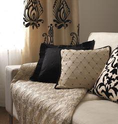 cushions; throws; Bellini Collection #SalonsInterija #Designer Fabrics & Wallcoverings, Upholstary Fabrics