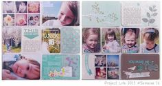 My #projectlife 2013 #americancrafts #blushedition