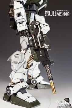 Custom Build: 1/60 RX-79[G] Gundam Ground Type - Gundam Kits Collection News and Reviews