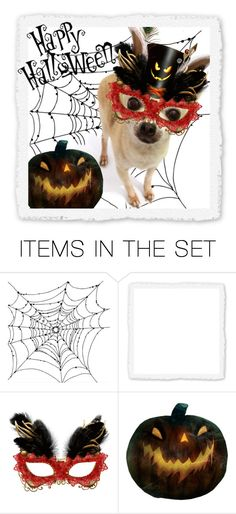 """""""Happy Halloween!"""" by mk-style ❤ liked on Polyvore featuring art"""