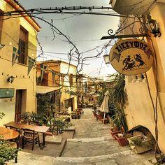Ancient Street, Athens, Greece