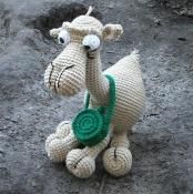 Joe the Camel a Crochet Pattern  - via @Craftsy