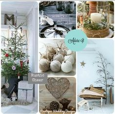 rustic chrismas wedding | Rustic Cheer} Rustic Christmas Inspiration ... | Rustic Wedding In...