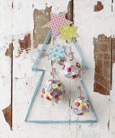 Noël toi-même ! J-15: décorer une boule avec des boutons - Webzine Café Du Web