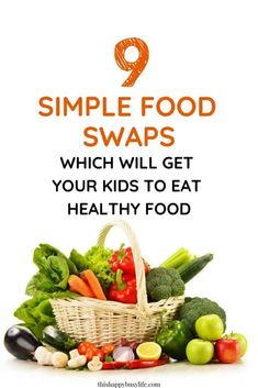 Are you struggling to get your toddler or kids to eat healthy foods? Check out these simple 9 food swaps which will help your family eating healthy meals and snacks. Healthy Food Swaps, Healthy Foods To Eat, Easy Healthy Recipes, Snack Recipes, Healthy Eating, Toddler Meals, Kids Meals, Easy Meals, Fussy Eaters
