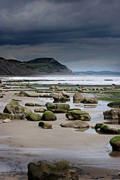 Charmouth Beach, Dorset, England by /northern/git