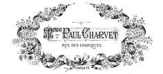 Vintage Clip Art - French Ephemera Frames Extravaganza - Printables & More - The Graphics Fairy