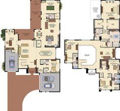 Minecraft House Plans, Sims House Plans, New House Plans, Dream House Plans, House Floor Plans, Home Design Floor Plans, Architectural Design House Plans, Affordable House Plans, Pool House Designs