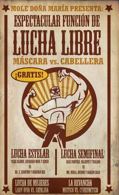 LUCHA_LIBRE_poster_by_rodolforever.jpg 800×1,318 pixels