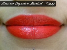 Luscious Signature Lipstick - Poppy