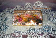 """Купить Футляр для очков """"Эльфийский сад"""" - эксклюзивный подарок, оригинальный подарок, шкатулка ручной работы"""