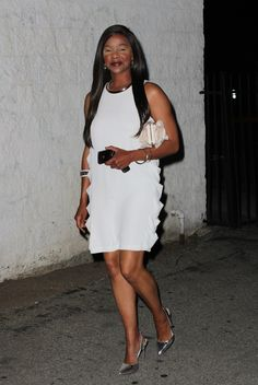 Lark Voorhies Makes Rare Public Appearance, Talks Save By the Bell Reunion! (VIDEO)