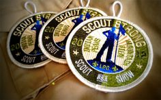 BSA scout strong patch logo