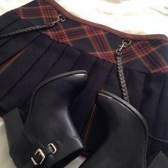 "Spotted while shopping on Poshmark: ""L.A.M.B. By Gwen Stefani Pleated Plaid Mini Skirt""! #poshmark #fashion #shopping #style #L.A.M.B. #Dresses & Skirts"