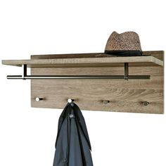 Wandkapstok 42717 Entryway Bench, Coat Racks, Furniture, Home Decor, New Houses, Hangers, Entry Bench, Hall Bench, Decoration Home