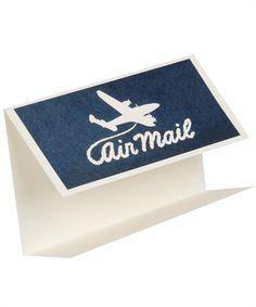 Airmail Greeting Card