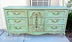A Bit O' Whimsy: Another Verdigris Dresser