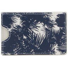 NAUTICA Palm Card Case #vermontfashion