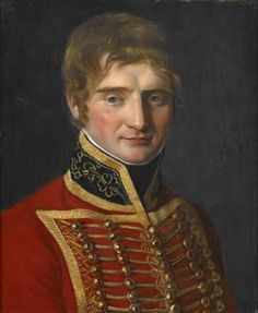 Portrait of a Man in Military Costume, School of Jacques-Louis David c.1800-1810