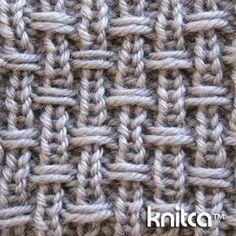 #Knitting #Stitch - slip stitch pattern Slip Stitch Knitting, Knitting Stiches, Crochet Stitches, Knitting Yarn, Knitting Needles, Knitting Help, Knit Or Crochet, Crochet Patterns, Knitting Patterns