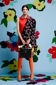 Can't get enuff of Thom Browne's Resort 2015 Collection #canthelpit #howawesomeisthat #FloralsRFrigginAhdorb