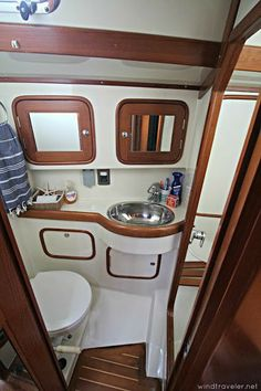 Windtraveler: We Bought a New Boat: But Why? The Method Behind our Madness (and a photo tour! Buy A Boat, Make A Boat, Build Your Own Boat, Sailboat Interior, Yacht Interior, Interior Design, Boat Decor, Cabin Cruiser, Plywood Boat