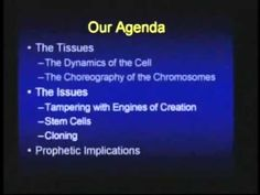 A talk by Christian bible scholar Chuck Missler on quantum and particle physics, cloning, dna, genetic engineering, and how they relate to biblical passages, approx 1 hour video.
