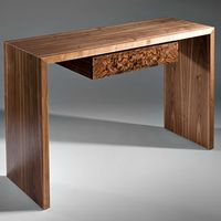 Console table in Walnut and Burr Decor, Irish Design, Table, Entryway Tables, Entryway, Condo, Furniture Design, Home Decor, Furniture