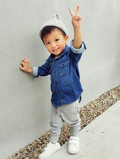 ラブ♡&ピース✌2016 熊本の子供達に笑顔を☺ 微力ながら参加させて下さい♡ デニムシャツは柔
