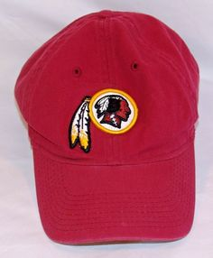 Reebok NFL Football Washington Redskins Strapback Baseball Cap Hat  Reebok   BaseballCap e64c03719ea1