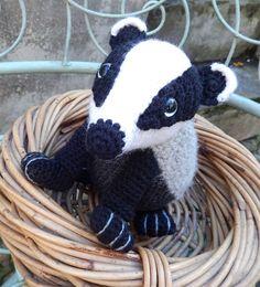 badger crochet pattern free - Google Search