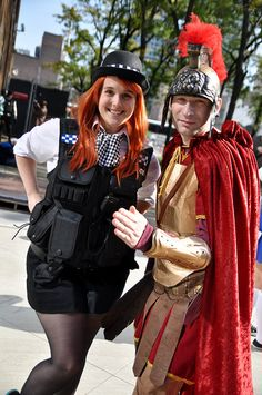 Amy and Rory Pond by AaronBerkovich, via Flickr
