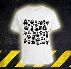 The Monsters  Custom Tshirt print screen Tshirt by DoneAnbu, $17.99