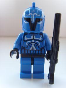 Senate Commando Captain LEGO Minifigure