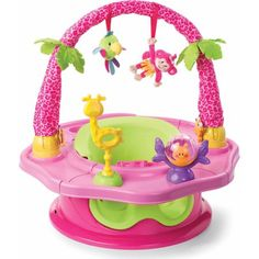 Summer Infant Island Giggles Deluxe SuperSeat Girl