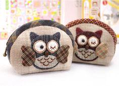 Owl Coin Purse Easy Sewing Project Sewing Kit For Girls