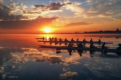 After recent snow, we couldn't be more excited for March mornings on Lake Mendota. This photo, taken by Wisconsin Women's Lightweight Rowing coach Heidi Hunsberger, is row2k's reigning photo of the year. UW Madison