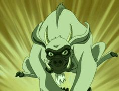 "Goat Gorilla Beginner's Guide To The Outrageous Animals Of ""Avatar: The Last Airbender"" Avatar Legend Of Aang, Avatar Aang, Legend Of Korra, Avatar The Last Airbender, Avatar Animals, Avatar Characters, Mountain Gorilla, Zuko, Spirit Animal"
