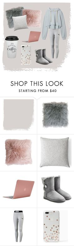"""""""Lets be lazy"""" by lovedance20 ❤ liked on Polyvore featuring Thro, Menu, Incase, UGG and Kate Spade"""