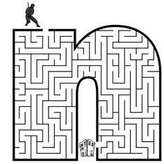 I love mazes! Gonna print some of these bad boys out for the kids to do this summer.