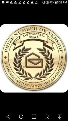 Prize Number Ownership Official Seal and Designation Acknowledgement for Alexander Henderson I cynthia wants sole ownership and full eligibily of in Aurora Colorado 80012