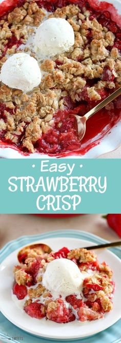 Easy Strawberry Cris