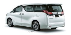 Toyota Alphard 2,5G - side rear view - First Class Comfort for The Family - AUTO2000