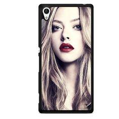 Lips Amanda Seyfried TATUM-6569 Sony Phonecase Cover For Xperia Z1, Xperia Z2, Xperia Z3, Xperia Z4, Xperia Z5