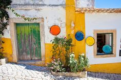 Colours of Obidos, Portugal