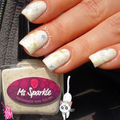 #nailart #nails Manis & Makeovers: Ms. Sparkle Sailor Moon Collection - Artemis